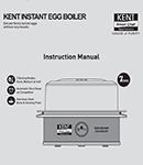 KENT KENT Egg Boiler Manual