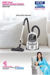 Kent Force Cyclonic Vacuum Cleaner Manual