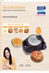 Kent Pizza & Omelette Maker User Manual