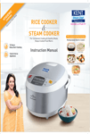 Kent Rice Cooker cum Steamer User Manual