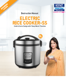 Kent Stainless Steel Rice Cooker Manual