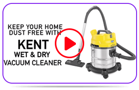 Play KENT Wet & Dry Vacuum Cleaner Video