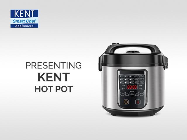 KENT Hot Pot Instant Cooker