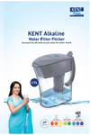 KENT Alkaline Water Filter Pitcher Brochure