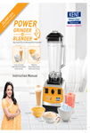 Kent Power Grinder and Blender User Manual