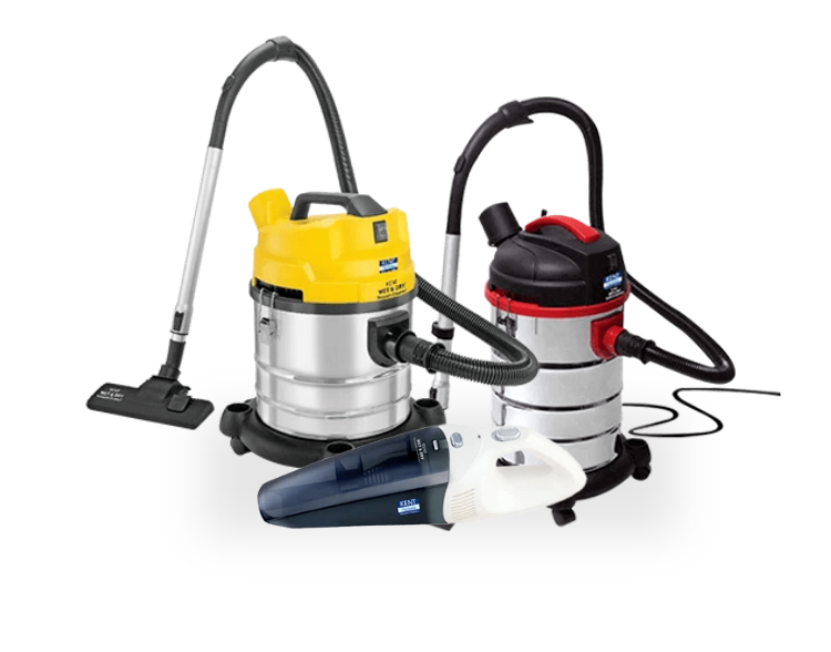 KENT Wet and Dry Vacuum Cleaners