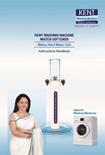 Kent Washing Machine Water Softener User Manual